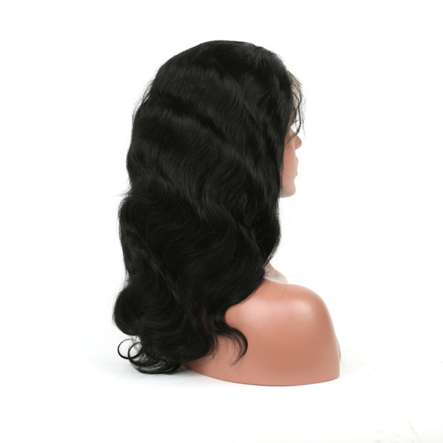 Malaysian virgin hair remy lace front wigs