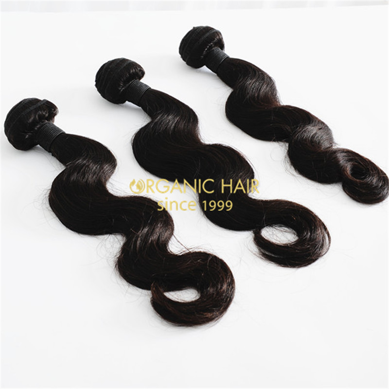 100 european human hair extensions