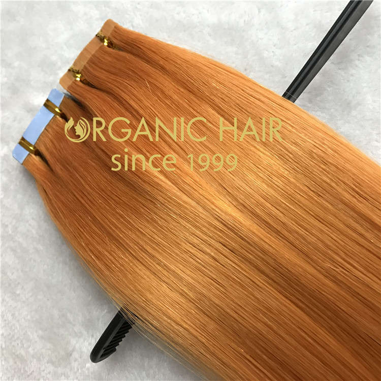 Hair extensions to order--High quality tape in hair extensions C21