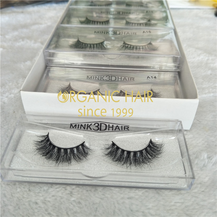 3D mink eyelash No.A14  GT54