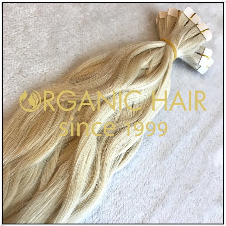 #60 natural straight tape in C018