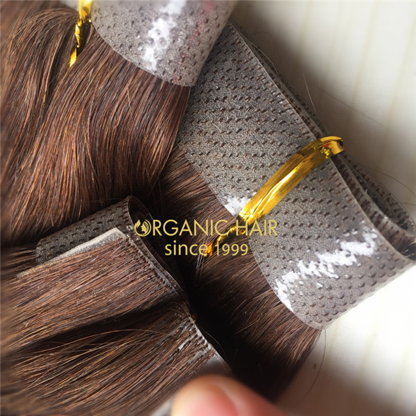 Hand made weft hair extensions human hair australia
