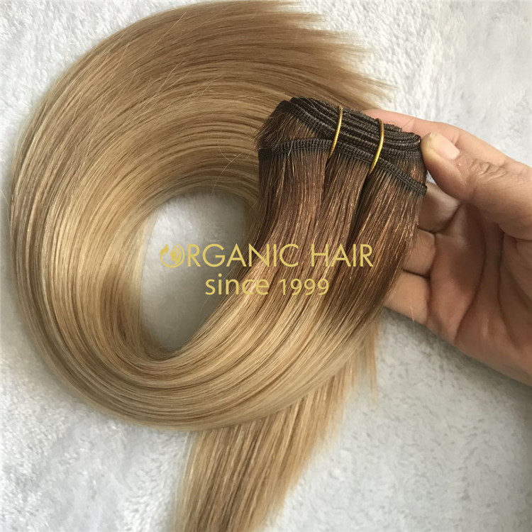 Customized 3 color machine weft with cheaper price A191