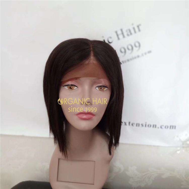 Wholesale  100% human hair full lace wigs for sale A147