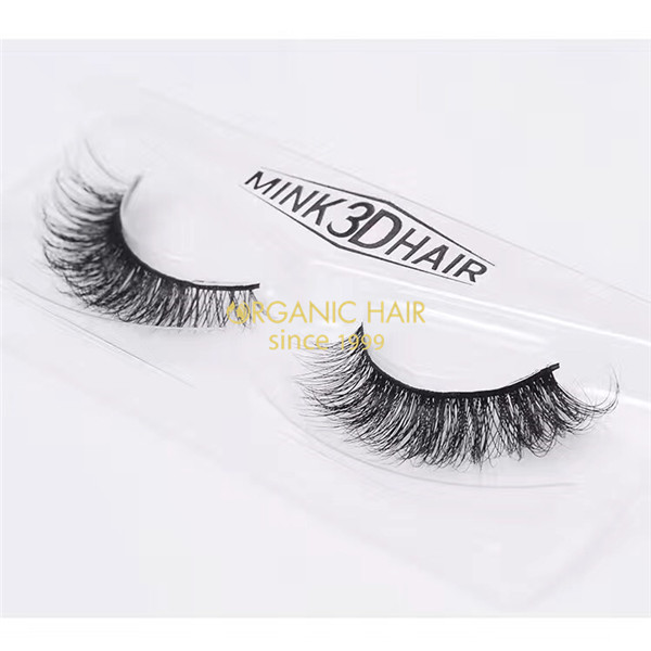 Private Label Custom 3D Mink lashes factory in China