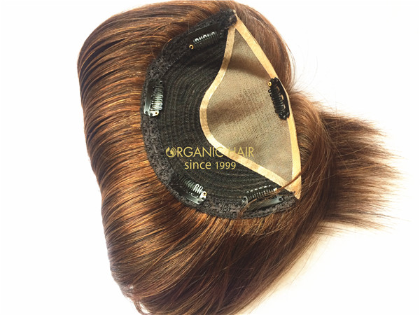 Wholesale topper hair extensions remy hair topper X1