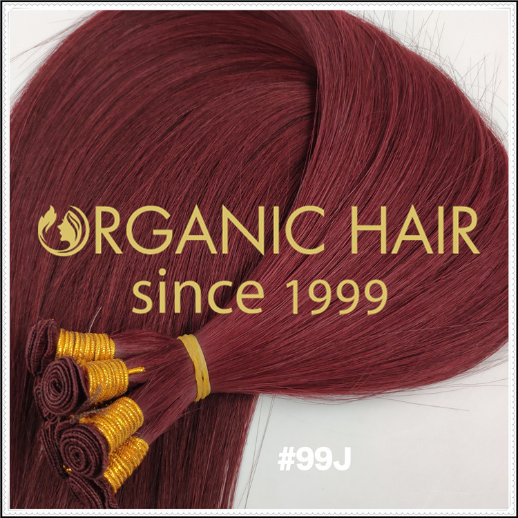 Best quality #99J Organic hair weft C081
