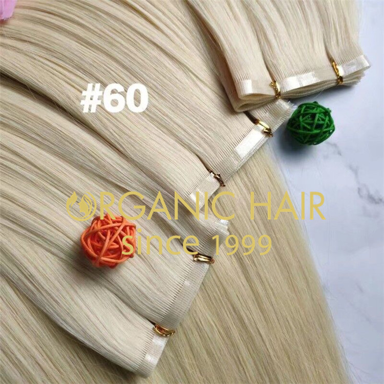 Updated bonded weft hair extensions,very soft,China A220