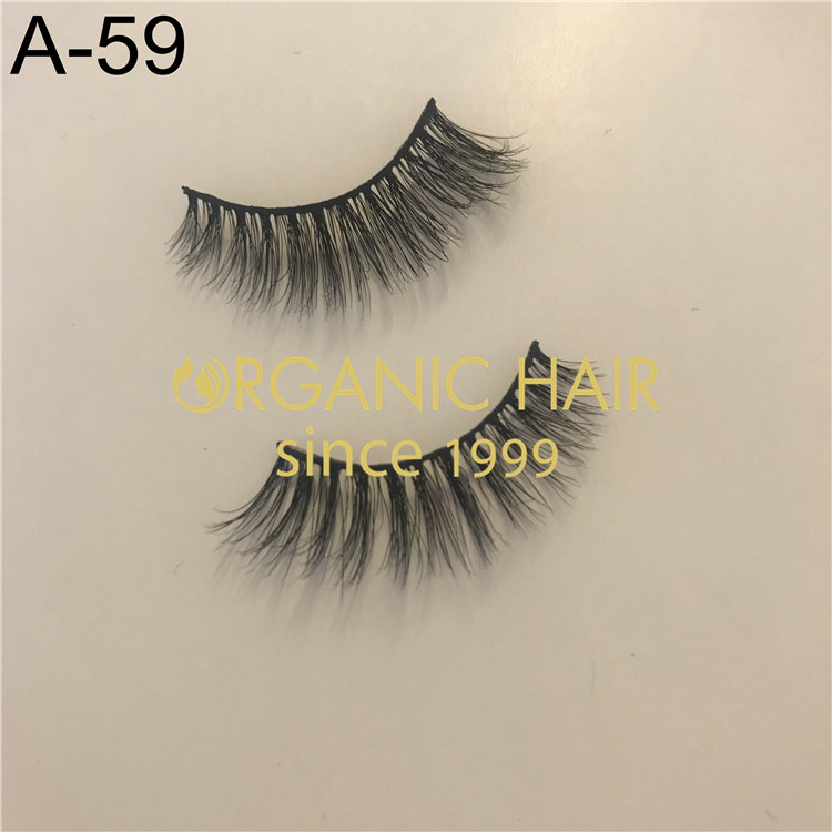 luxury 3D mink eyelash extensions No.A-59 H106