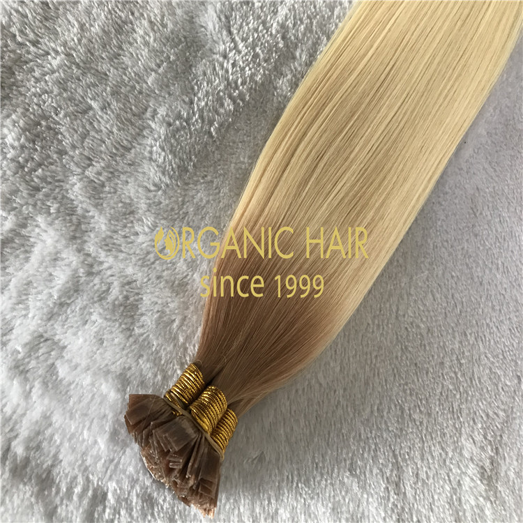 Natural blend keratin extensions  H153