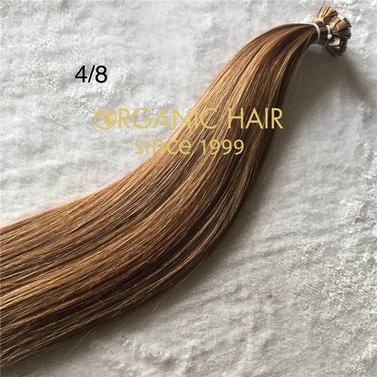 Hot sell flat tip hair extensions C79