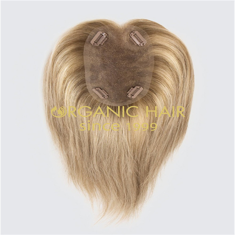 Hair wholesale factory remy hair women top pieces & topper in Chinese A37