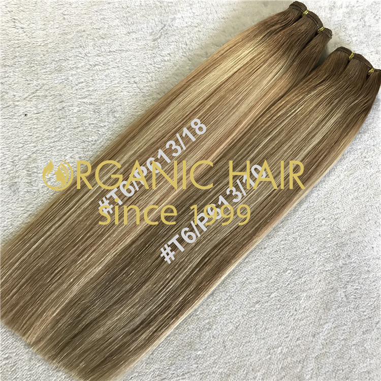 Hand tied hair extensions manufacturer H218