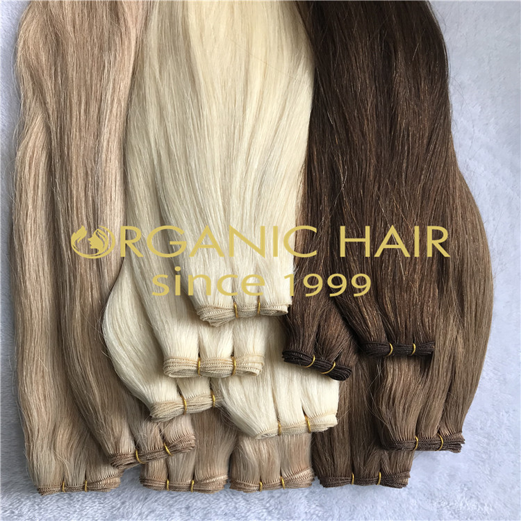 Cuticle Hand tied hair extensions H205