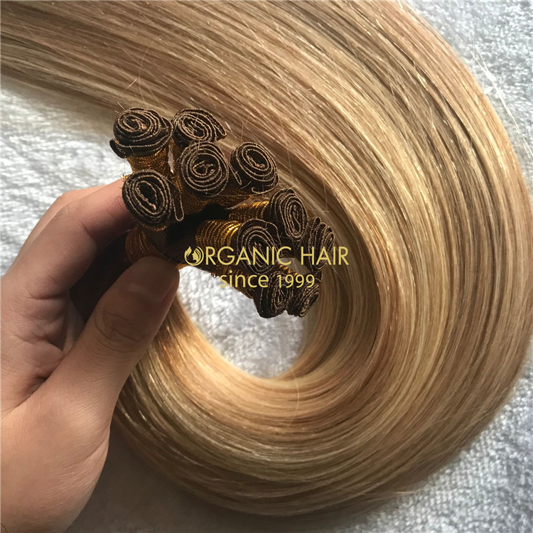 Human hand tied hair extensions to buy X201