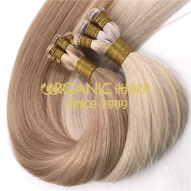Blend hand tied hair extensions  wholesale H318