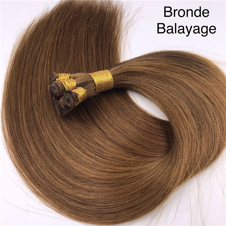 Large human hair extensions in stock  H315