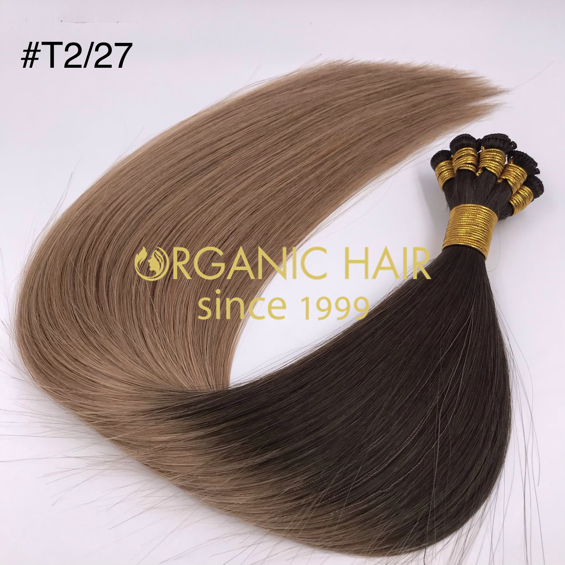 High quality ombre color handtied weft wholesale J07