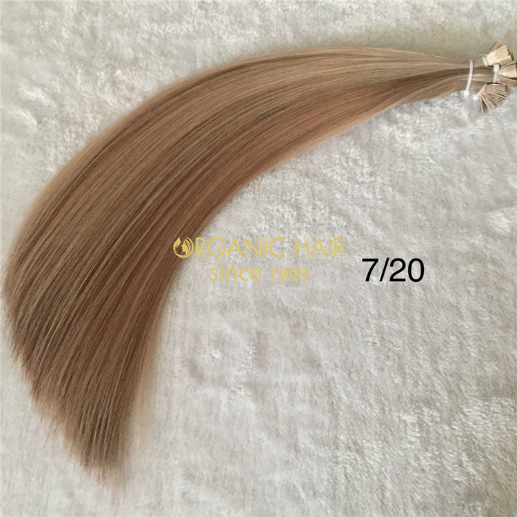 Human flat tip hair extensions on sale X185
