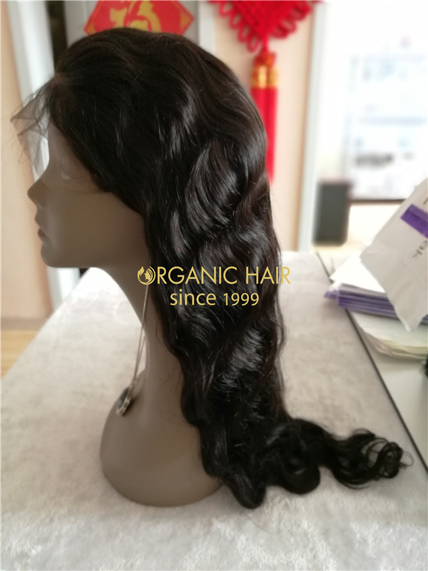 Wholesale cheap human hair lace front wigs body wave X25