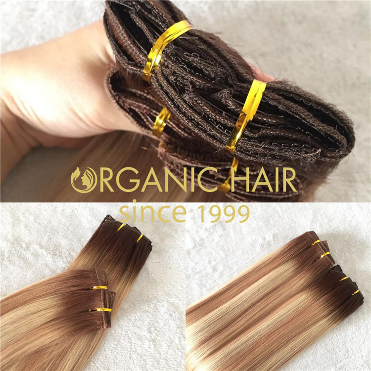 Best QUALITY machine wefts with  wholesale discount price A214