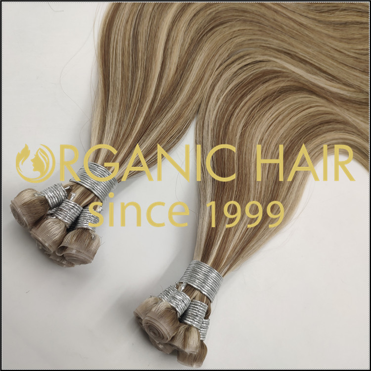 Top quality cuticle pu skin weft wholesale  C082