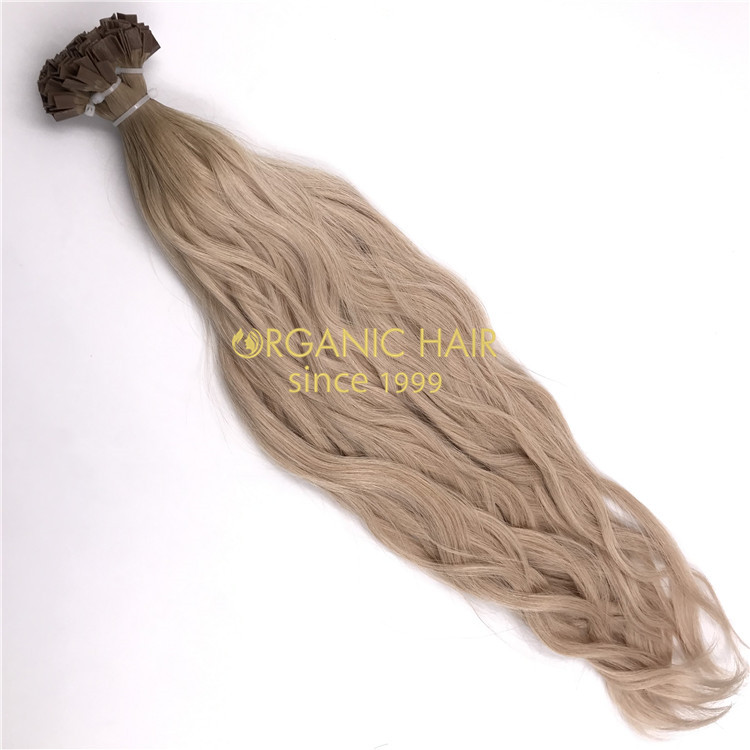 Human keratin vtip hair extensions and hot sale X246