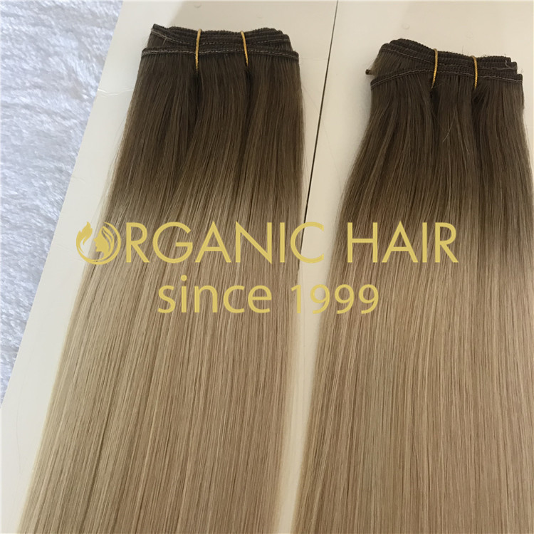 NATURAL BEADED WEFT HAIR EXTENSIONS H181