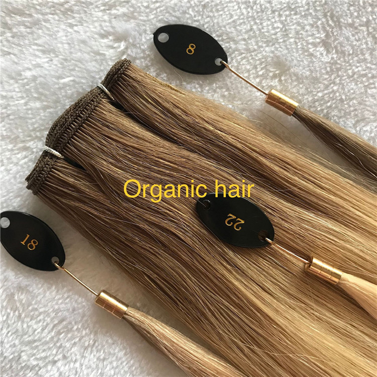 Full cuticle highlight hand tied weft I20