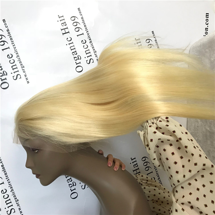 Blonde full lace wig online stores at wholesale price C18
