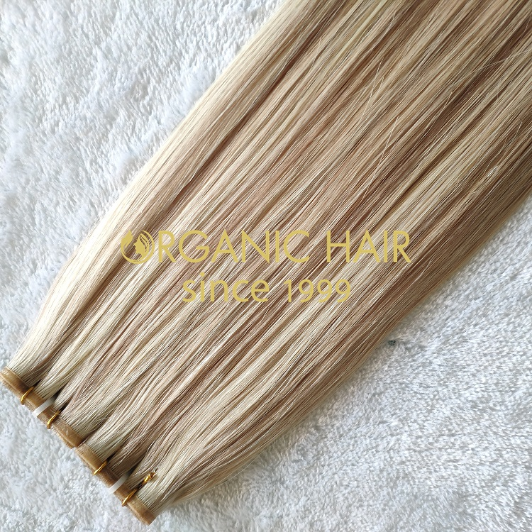 Super Double Drawn Seamless Weft Hair RB8