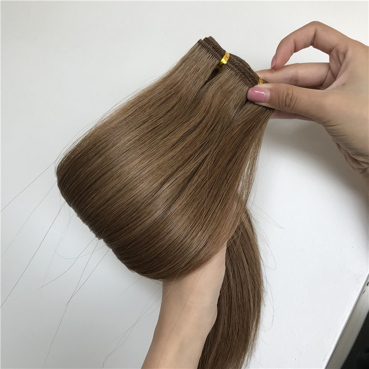 Slavic hair wefts with full cuticle H186