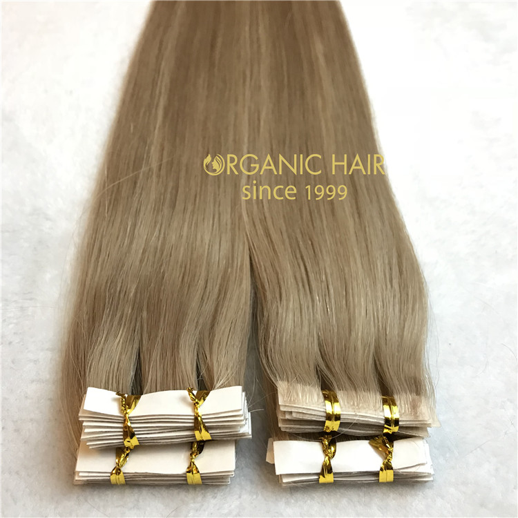 Hair extensions to order-- Skin weft hair extensions C10