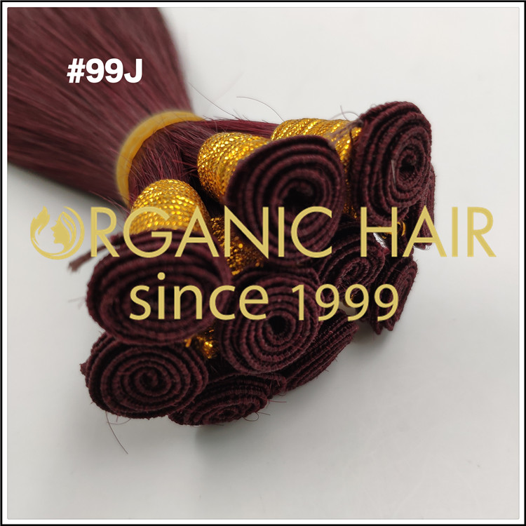 THREE STYLES of hand tied weft C020NEWS