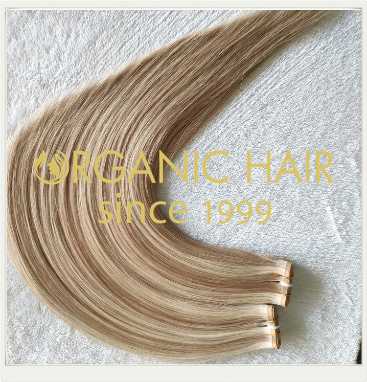 Top quality most popular flat weft hair extensions CNY009
