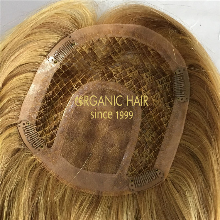 Customized best hair toppers with top qualtiy A185