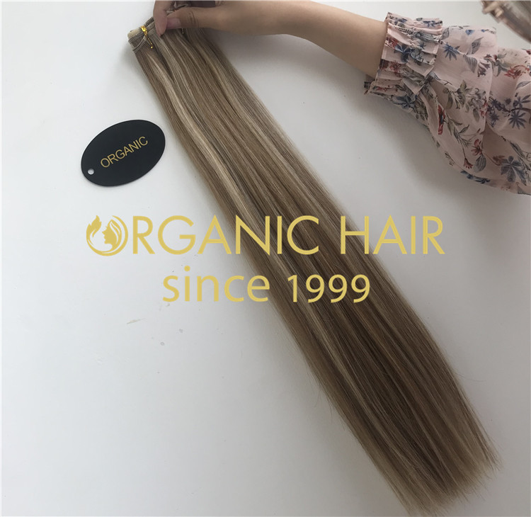 Slavic hair hair weaves piano color H194